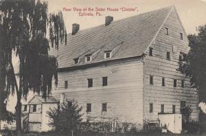 EPHRATA , Pennsylvania, 1900-10s ; Sister house Cloister