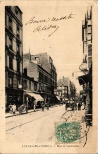 CPA LEVALLOIS PERRET Rue de Courcelles (413627)