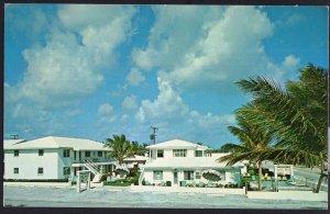 Florida RIVIERA BEACH Blossom Lane Motel Apts., 101 Blossom Lane 1950s-1970s