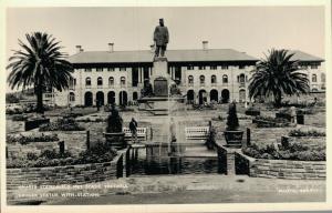 South Africa Kruger Statue with Station Pretoria 01.94