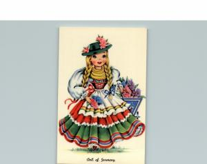 Doll Of Germany posted Cute Doll in a dress with flowers
