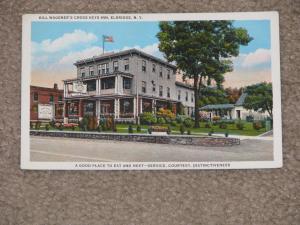 Bill Wagener`s Cross Keys Inn, Eldridge, N.Y., used vintage card