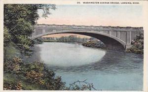 Scenic view, Washington Avenue Bridge, Lansing, Michigan, 00-10s