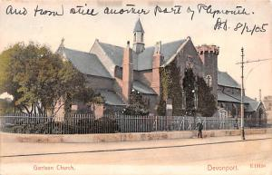 Devonport United Kingdom, Great Britain, England Garrison Church Devonport Ga...