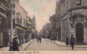 Peterborough Narrow Bridge Street Bicycles Postcard