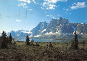 Canada Jasper National Park Tonquin Valley with the Ramparts and Amethyest Lake