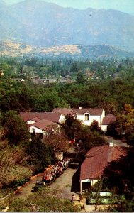California La Canada Descanso Gardens View Of Hospitality House From Skyline ...