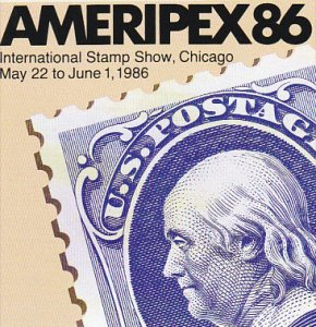 Stamps Of United States Ameripex 86