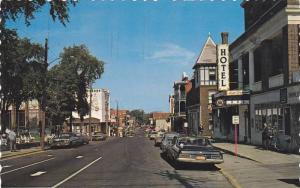 Classic Cars, Drug Store, La Rue Heriot, Drummondville, Quebec, Canada, PU-1989