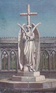 CAWNPORE , India , 00-10s ; Statue , Memorial well ; TUCK 7234