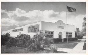 A98/ Davenport Florida Fl Postcard c1940s C.S. Taylor & Company Candy Factory