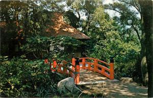 Descanso Gardens La Canada California Japanese Tea Garden Farm House Postcard