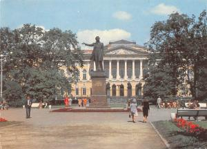 Leningrad - Monument to AS Pushkin