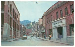 Downtown Bisbee, Arizona, 1966 used Postcard