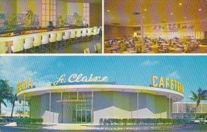Florida Pompano Beach Saint Clairs Cafeteria 1963