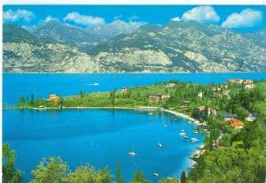 Italy, Lago di Garda, Malcesine, Val di Sogno, 1987 used Postcard