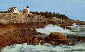 ME - Pemaquid Point. Lighthouse