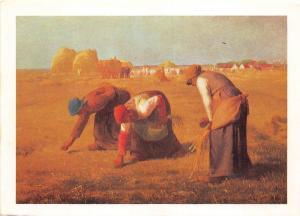 BR22121 Tableau de millet Les Glaneuses paint peintures