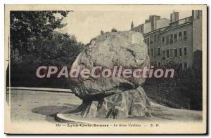 Old Postcard Lyon Croix Rousse Le Gros Caillou