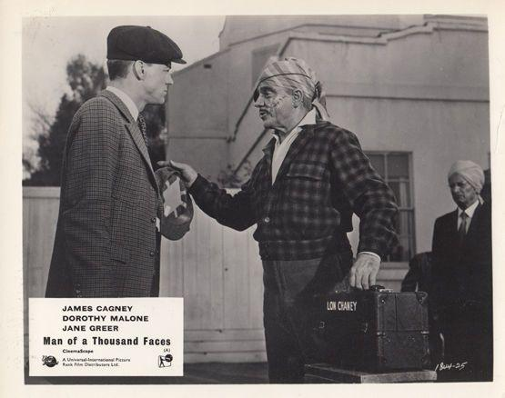 Man Of A Thousand Faces James Cagney Large 10 x 8 Original Movie Photo