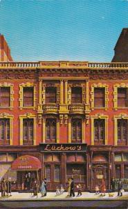 New York City Luchow's Famous Restaurant