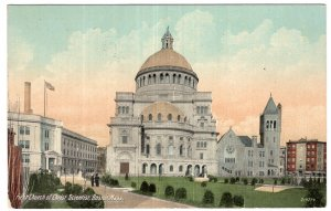 Boston, Mass, First Church of Christ Scientist