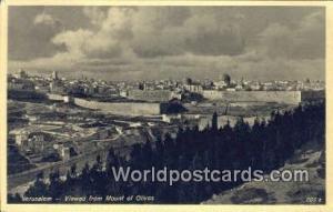 Jerusalem, Israel Mount of Olives Mount of Olives