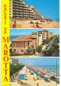 Italy, Saluti da MAROTTA, used Postcard
