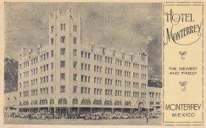 Hotel Monterrey , MONTERREY , Mexico , PU-1936