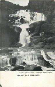 Charlotte Falls , Sierra Leone A. Lisk-Garew, Photo Freetown Postcard