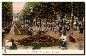 Old Postcard Vichy Casino Park Mountain Ranges