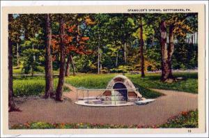 Spangler's Springs, Gettysburg PA