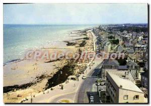 Modern Postcard Saint Aubin Sur Mer beach