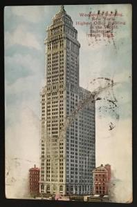 Woolworth Building New York 1912 Success Postal Card Co 1114