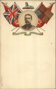 Boer War British Military Patriotic Flags Lord Kitchener Khartoum Series 23B
