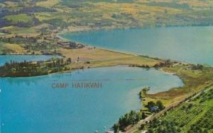 Canada Aerial View Kalway Bay Oyama British Columbia