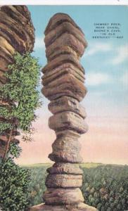 Kentucky Chimney Rock Near Daniel Boone's Cave