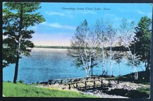 Greetings from Clear Lake Iowa 1943 E.C. Kropp Co