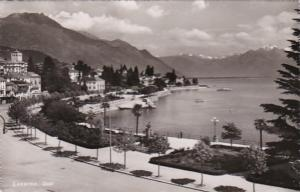 Switzerland Locarno Quai 1951 Photo