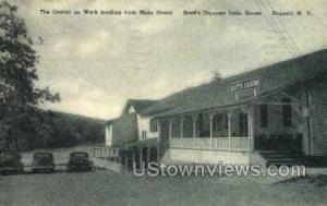 Scott's Oquaga Lake House, Casino Oquaga Lake NY 1954