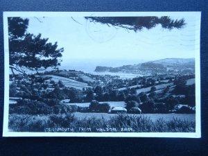 Devon TEIGNMOUTH From Haldon c1950s RP Postcard by Chapman & Son