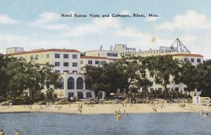 Hotel Buena Vista and Cottages, Biloxi, Mississippi, 1940-1960s