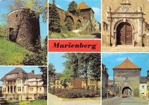 Germany Marienburg Heimatmuseum im Zschopauer Tor Roter Turm Denkmal Statue