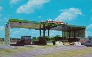 Oklahoma Tulsa Oklahoma Entrance To The Will Rogers Turnpike