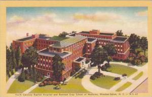 North Carolina Winston Salem North Carolina Baptist Hospital And Bowman Gray ...