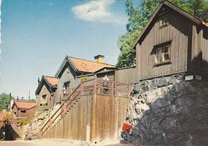 Sweden Stockholm Idyll vid Asogatan