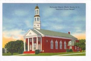 Methodist Church, Myrtle Beach, South Carolina, 1930-1940s