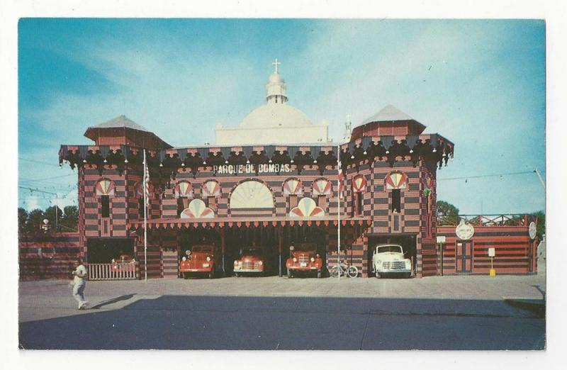 Greetings ponce puerto rico firehouse vintage postcard hippostcard greetings ponce puerto rico firehouse vintage postcard m4hsunfo