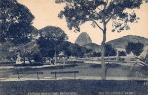 Brazil Rio de Janeiro Avenida Beira Mar Botafogo Postcard