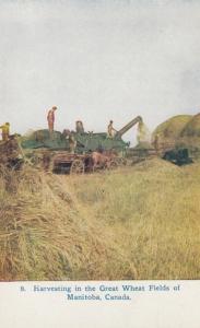 Canada , 00-10s ;  Harvesting in Manitoba